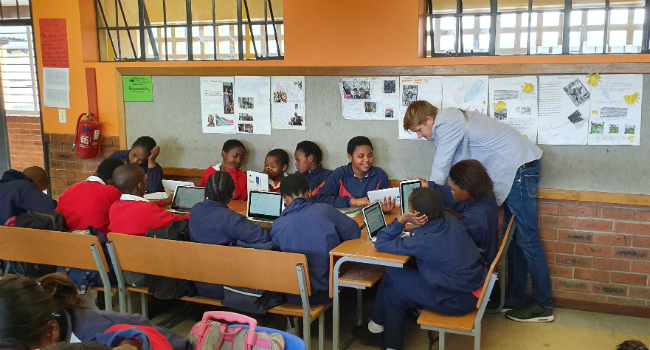IT tools provide underprivileged in South Africa better education